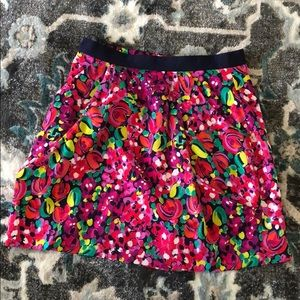 Lily Pulitzer flower skirt